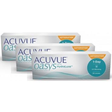 Acuvue Oasys 1-Day for Astigmatism (90)  lentes de contacto de www.interlentillas.es