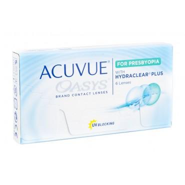 Acuvue Oasys for Presbyopia  lentes de contacto de www.interlentillas.es