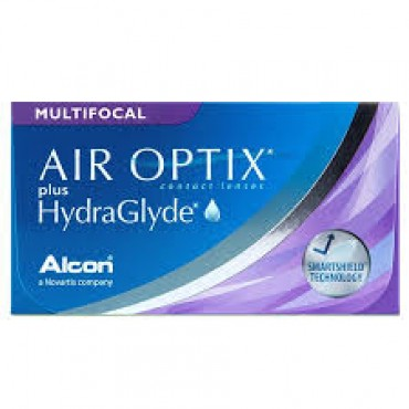 Air Optix Plus HydraGlyde Multifocal (6) lentes de contacto de www.interlentillas.es