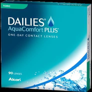 Dailies Aquacomfort Plus Toric (90) lentes de contacto de www.interlentillas.es