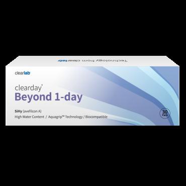 Clearday Beyond 1-Day (30) lentes de contacto de www.interlentillas.es