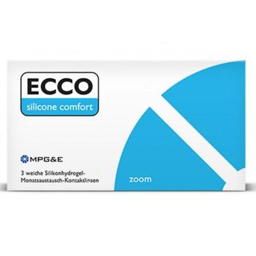 Ecco Silicone Comfort Zoom (3) lentes de contacto de www.interlentillas.es