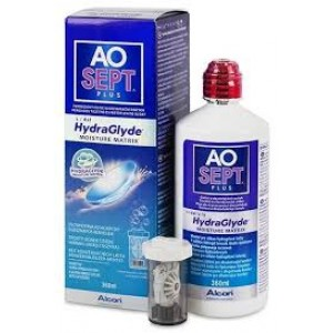 Aosept Plus Hydraglyde  - 1 x 360ml.