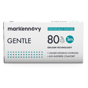 Gentle 80 Toric contact lenses 3-pack